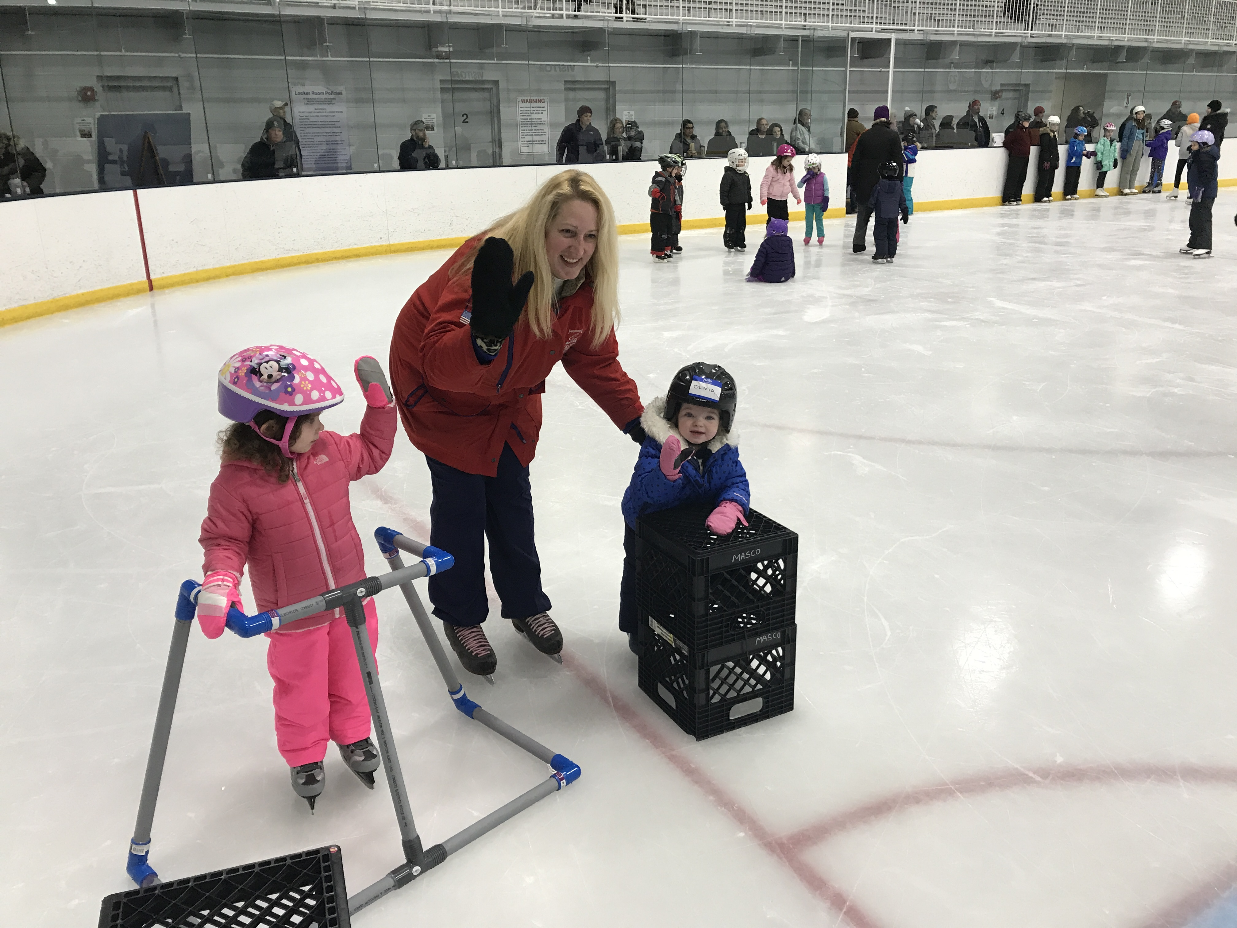 North andover youth hockey learn to skate